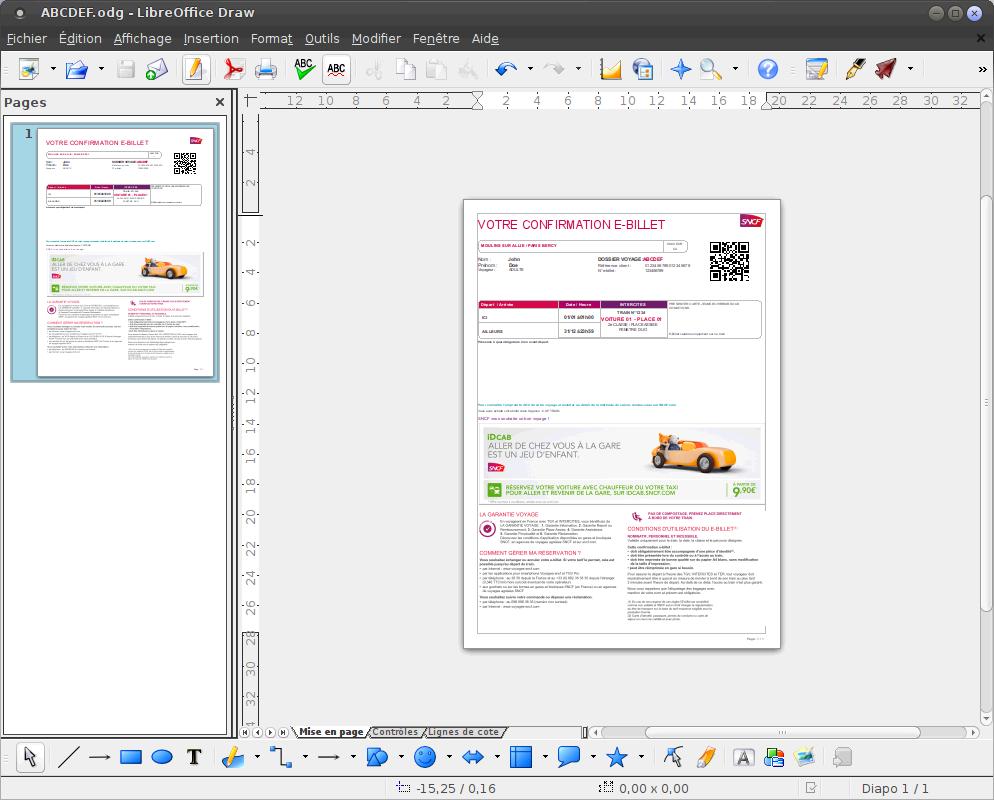 Utiliser libreoffice pour supprimer les pubs sur les e - Ouvrir un fichier pdf avec open office ...