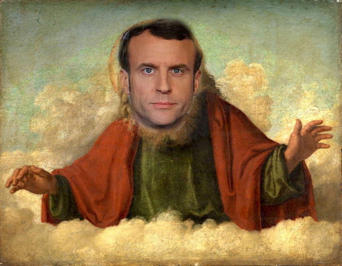 Dieu Macron.