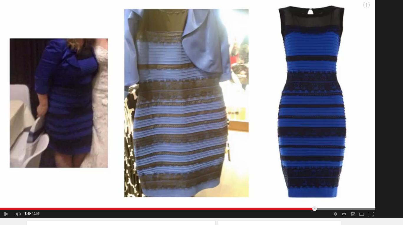 Robe bleue et noire photoshop