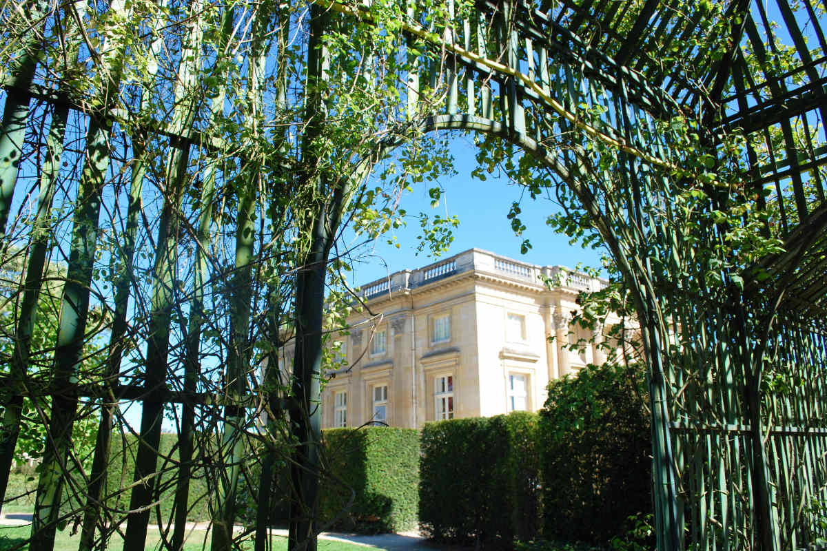 photo d'une annexe du palais de versailles