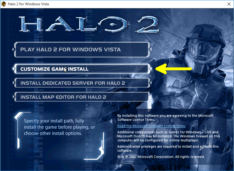 installation halo2