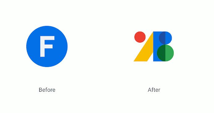 L'ancien logo de Google Fonts et le nouveau.