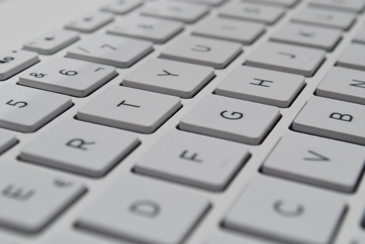 Photo d'un clavier.