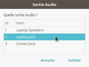 mon applet audio