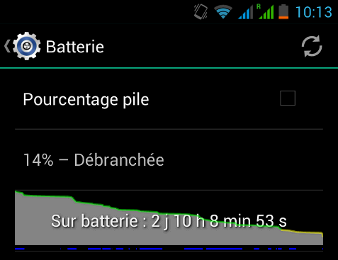 wiko battery screenshot