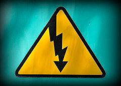 danger high tension logo