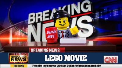 fox news with lego