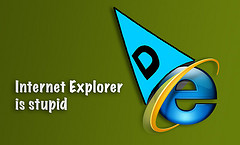 internet explorer is stupid