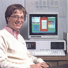 bill gates seeling windows