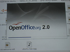 open office dans Ubuntu