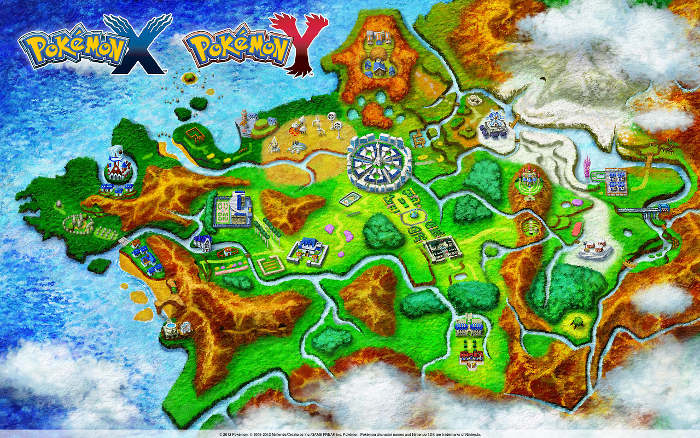 pokemon kalos region