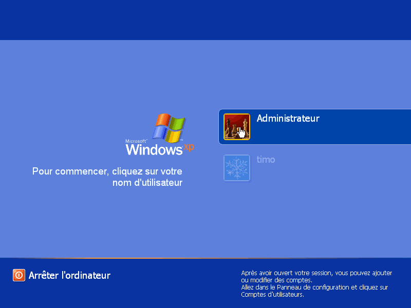 comment retrouver un mot de passe windows xp